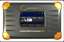 Quantum Data 780 Handheld Test Instrument